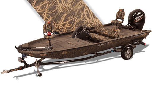 New Lowe Boats Stinger 195 Poly Camo for sale in Ottawa